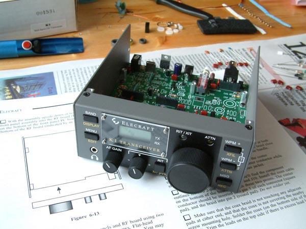 Building Elecraft Kit - DL9FBF Homepage